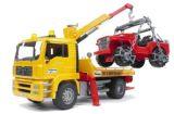 MAN TGA takelwagen met jeep | Kuiper Koekange