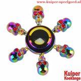 Fidget spinners metaal skull   Kuiper Koekange